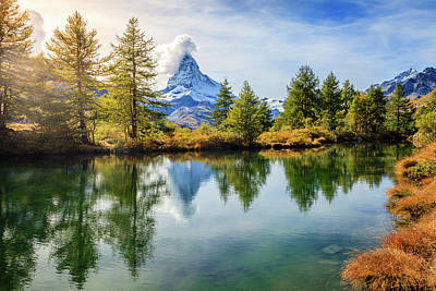 Pasta Al Dente - Alpine pond by Alexey Stiop