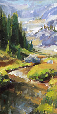 Cactus - Alpine Stream by Steve Henderson