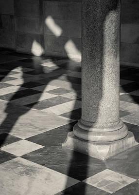 Cartoons Tees - Amalfi Cathedral Shadows by Dave Bowman
