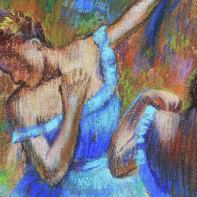 Unicorn Dust - Amazing Ballerinas Degas Study Fragment I by Irina Sztukowski