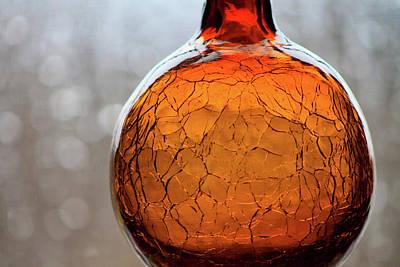Purely Purple - Amber Glass 1 by David Beard
