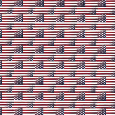 Digital Art - American Spirit by Debbie Smith