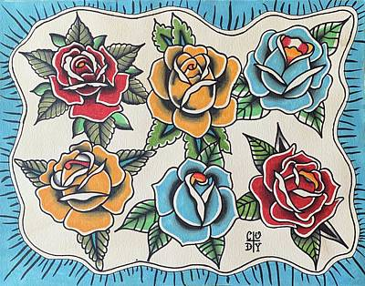 Lovely Lavender - American Traditional Roses by Cody Pratt