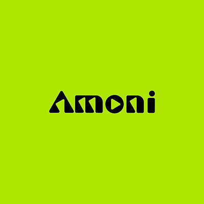 Royalty-Free and Rights-Managed Images - Amoni #Amoni by TintoDesigns