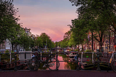 Holiday Pillows 2019 - Amsterdam at Dawn by Andrew Soundarajan
