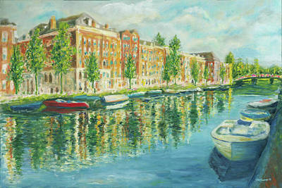 Painting - Amsterdam by Stan Sweeney