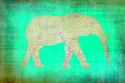 Royalty-Free and Rights-Managed Images - An African Elephant by Brandi Fitzgerald