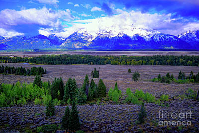 All American - An October view in the Tetons by Jeff Swan