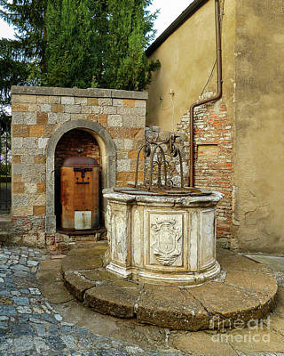 Achieving - Ancient Montefollonico Well by Norma Brandsberg