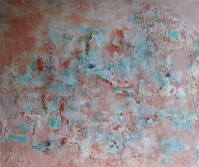 Mixed Media - Ancient Wall by Rose Cofield