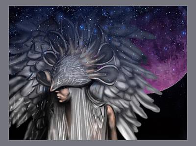 Digital Art - Angelic by Kristin Mccord