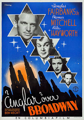 Royalty-Free and Rights-Managed Images - Angels Over Broadway, with Douglas Fairbanks Jr. and Rita Hayworth, 1940 by Stars on Art