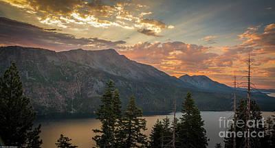 Sean - Angora Ridge Evening Light by Mitch Shindelbower