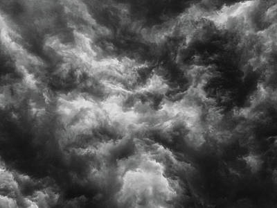 Photograph - Angry Clouds by Louis Dallara