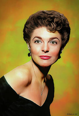 Royalty-Free and Rights-Managed Images - Anne Bancroft illustration by Stars on Art