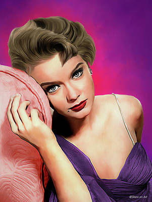 Royalty-Free and Rights-Managed Images - Anne Francis illustration by Stars on Art
