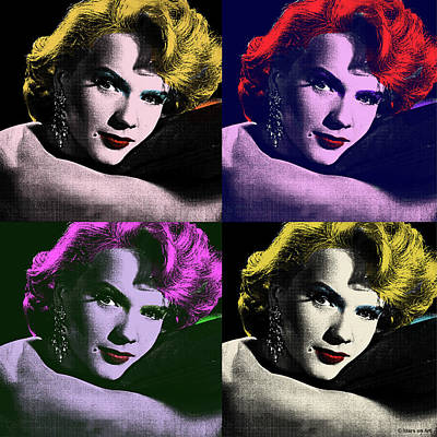 Have A Cupcake - Anne Francis pop art by Stars on Art