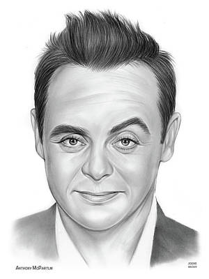 Modern Man Air Travel - Ant McPartlin by Greg Joens