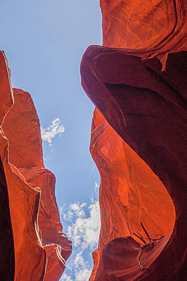 Thomas Kinkade - Antelope Canyon Skyward by Rob Hemphill