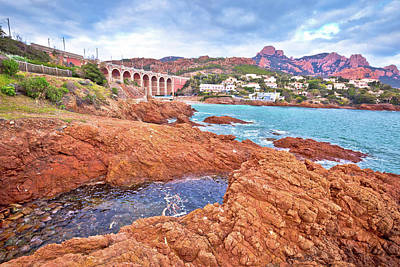 Sean Rights Managed Images - Antheor, Saint Raphael. Franch riviera scenic coastline view, Royalty-Free Image by Brch Photography