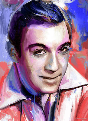 Royalty-Free and Rights-Managed Images - Anthony Quinn painting by Stars on Art