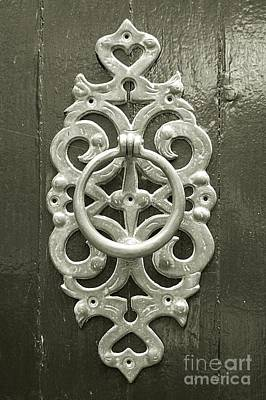 Fathers Day 1 - Antique Door Knocker by Linda Covino