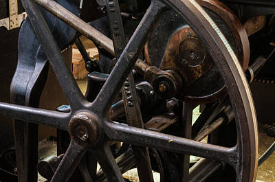 Vermeer Rights Managed Images - Antique Press Royalty-Free Image by Stewart Helberg