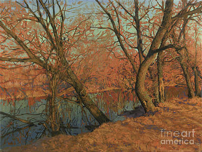 Painting - April. Warm evening by Simon Kozhin