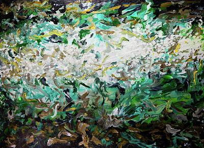 Painting - Aqualoid by Doug LaRue