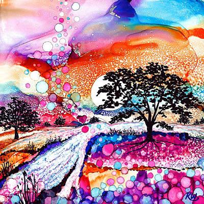 Painting - Aquarius by Karen Wysopal