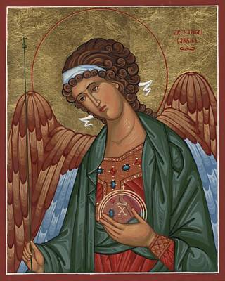 Painting - Archangel Gabriel by Laura Wilson