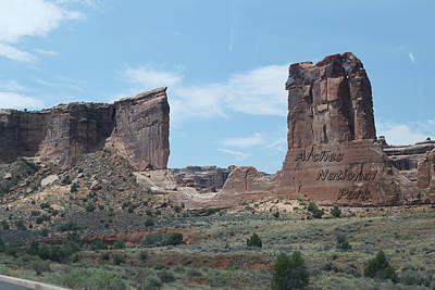 Travel Rights Managed Images - Arches Nationl Park Royalty-Free Image by Dennis Begnoche