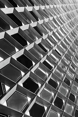 Up Up And Away - Architectural Abstract Metal Print by Aaron Geraud