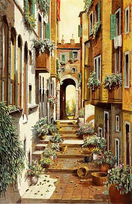 Dainty Daisies - Arco A Cielo Bianco by Guido Borelli