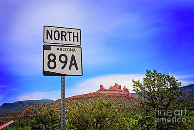 Antlers - Arizona 89A by Anna Serebryanik