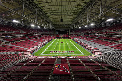 Sports Royalty-Free and Rights-Managed Images - Arizona Cardinals #74 by Robert Hayton