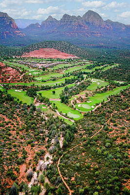 Sports Royalty-Free and Rights-Managed Images - Arizona - golf country by Alexey Stiop
