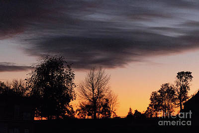 Abstract Graphics - Arkansas Sunset by Garry McMichael