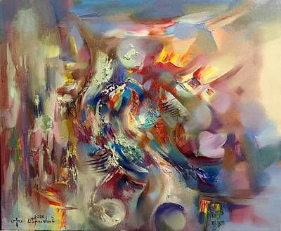 Painting - Armenian charm by Meruzhan Khachatryan