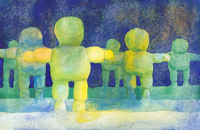 Painting - Arms Wide by Tina Lewis