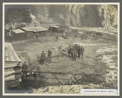Route 66 - Army camp of Alpine fighters in the Dolomites by Artistic Panda