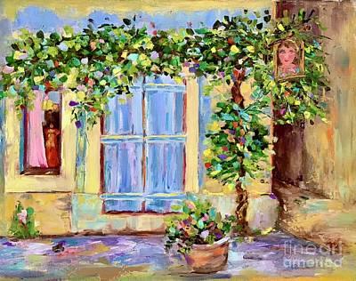 Painting - Around the Corner by Patsy Walton