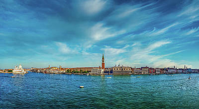 Gaugin Rights Managed Images - Arriving to Venice by boat Royalty-Free Image by Alfredo Art Studio