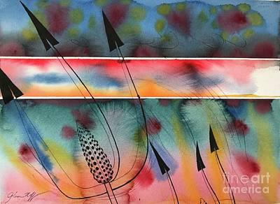 Painting - Arrows by Glen Neff