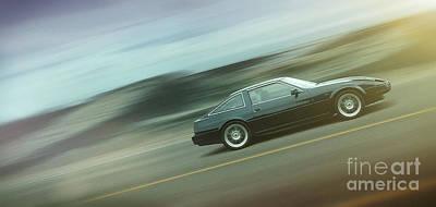 Digital Art - Art - Cruising the Highway by Matthias Zegveld