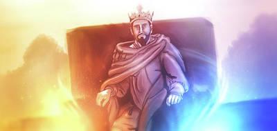 Digital Art - Art - Great King David by Matthias Zegveld