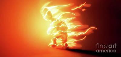 Digital Art - Art - I'm on Fire by Matthias Zegveld