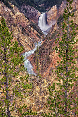 Scifi Portrait Collection - Artist Point - Yellowstone National Park #1 by Stephen Stookey
