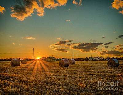Namaste With Pixels - As the sun sets by Nick Zelinsky Jr