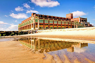 Antlers - Asbury Park reflection by Geraldine Scull